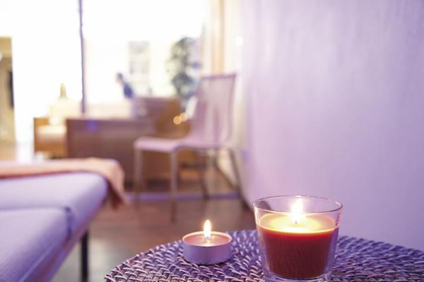 Praxisraum Psychotherapiepraxis, Kerzenlicht, Villingen