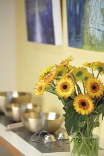 Praxisraum Psychotherapiepraxis, Blumen, Färberstraße, Villingen